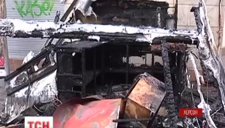 В центре Херсона прогремел взрыв