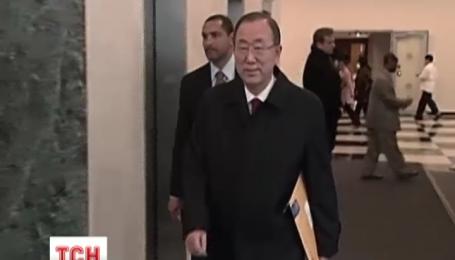 Генсек ООН вновь выразил беспокойство по поводу событий на Донбассе