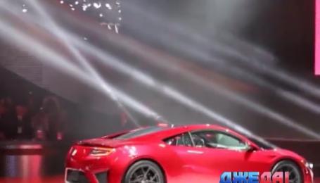 На Детройтском автосалоне показали гибридный Acura NSX