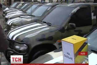 Депутат Парасюк объяснил, почему волонтеры отправили из Львова в зону АТО не растаможенные машины