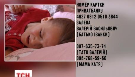 Девятилетняя Иванка нуждается в помощи