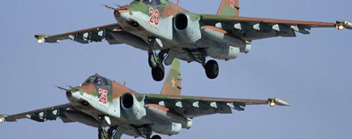 У РФ розбився Су-25