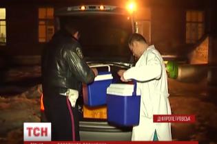 """Працівники ДАІ влаштували """"естафету"""" з доставки крові пораненим """"кіборгам"""""""