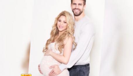 Беременная Шакира снялась в фотосессии