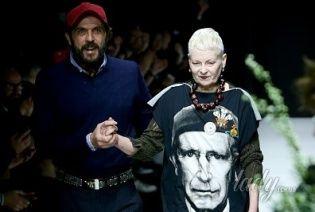 Вивьен Вествуд советует всем носить футболки с изображением принца Чарльза