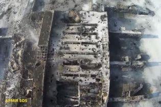 У США створили 3D-мапу масштабних руйнувань Донецького аеропорту