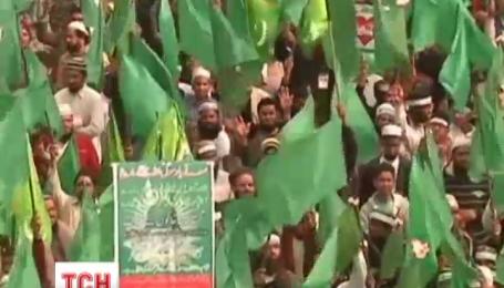 У Пакистані не вщухають масові протести через карикатури на пророка Магомета