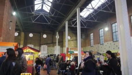 Рынок Брик Лейн - лондонский рай для любителей уличной еды