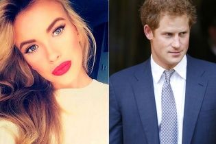 Принц Гарри провел бурную ночь с российской моделью
