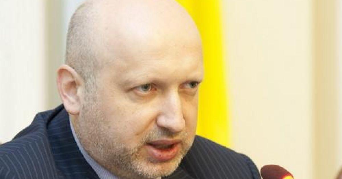 Турчинов предупредил об угрозе возобновления активных боевых действий на Донбассе