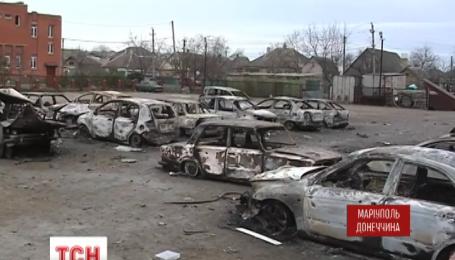Подробности теракта в Мариуполе