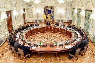 Сенсационные решения СНБО: санкции против России, обращение в Гаагский трибунал и военные у власти в зоне АТО