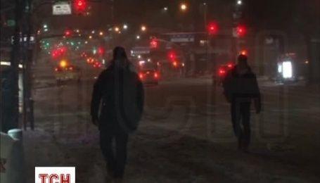 В США пришел один из самых снежных штормов за всю историю