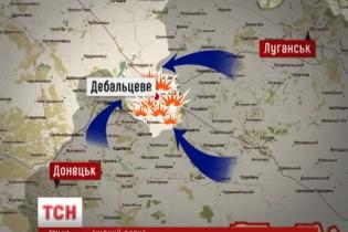 Боевики под Дебальцево понесли серьезные потери и бросились наутек