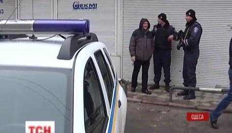 В Одесі затримали трьох чоловіків з вибухівкою