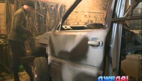 На Киевщине в броню переодевают и гражданские внедорожники