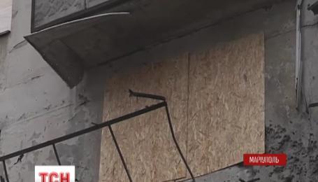 В Мариуполе восстанавливают разрушенные дома