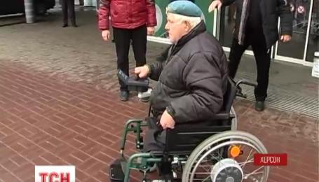 Візок для волонтера з Херсона подарували благодійники з Німеччини