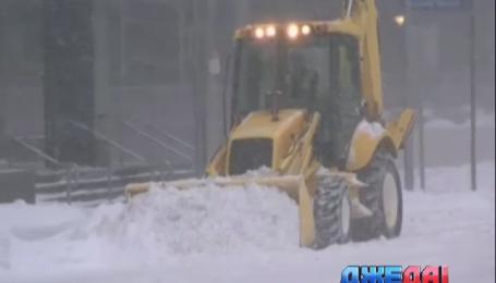 Америка приходит в себя от невиданного снегопада