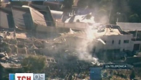Взрыв грузовика с газом разрушила детскую больницу в Мексике: десятки людей ранены
