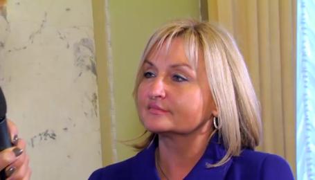 Супруги Луценко бок о бок работают в парламенте
