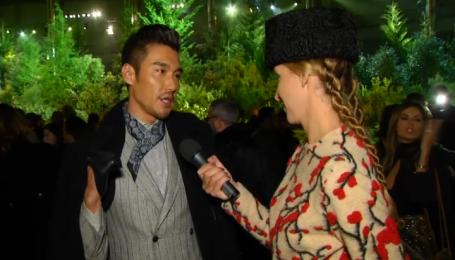 Актер Бин Ху о выборе одежды для красных дорожек