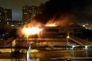В Москве из-за пожара обрушилась крыша библиотеки Института общественных наук