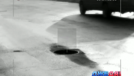 Открытый канализационный люк может стать причиной масштабной аварии
