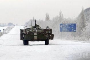 В районе Дебальцево подорвали БТР с бойцами АТО, есть погибший и раненые