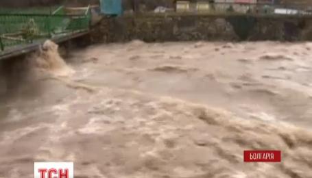 Болгария страдает от наводнений