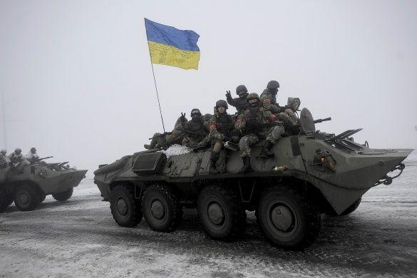 Війна на Донбасі, АТО, українські військові