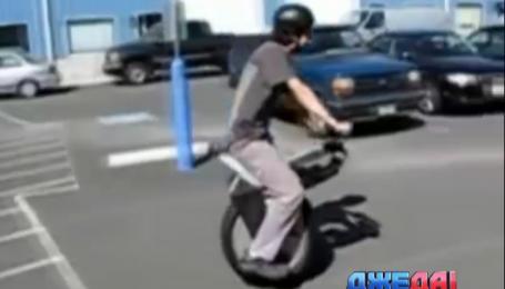 Моноцикл - транспорт будущего по версии канадцев