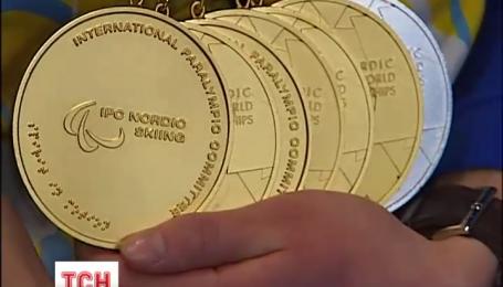 Украинская сборная паралимпийцев посвятила свои победы военным в зоне АТО