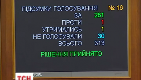 Верховна Рада позбавила Януковича звання президента України