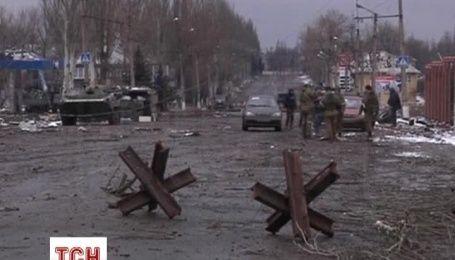 Боевики превратили Углегорск в руины