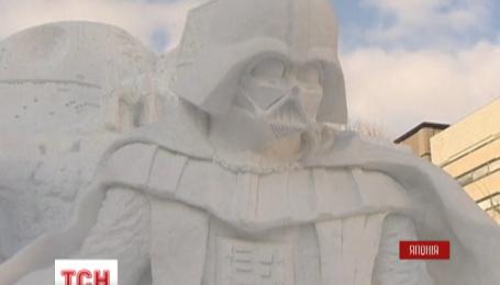 В Японском городе Саппоро открылся фестиваль ледовых скульптур