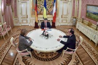 Ніякої пропозиції від Путіна Меркель та Олланд не привозили - Чалий