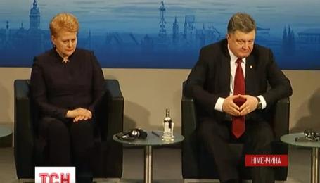 На конференції з безпеки у Мюнхені Україна схиляла Захід допомогти їй зброєю