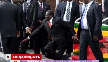"Президент Зімбабве став об'єктом ""фотожаб"""