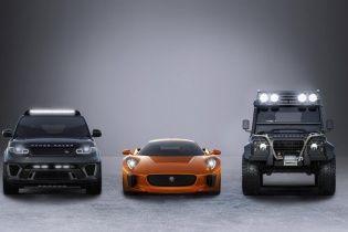 Jaguar Land Rover показал авто для нового фильма о Джеймсе Бонде