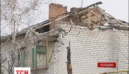 Бойовики обстрілюють житлові квартали Станиці Луганської