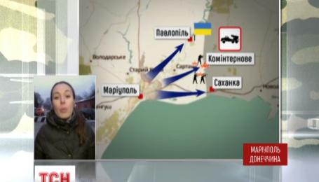 """Полк """"Азов"""" пішов у наступ на Маріупольському напрямку і звільнив селище Широкине"""
