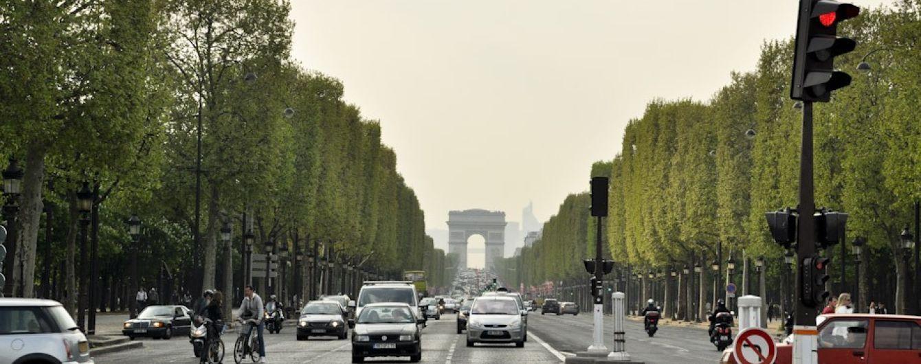У Парижі заборонили їздити на авто у кожну першу неділю місяця