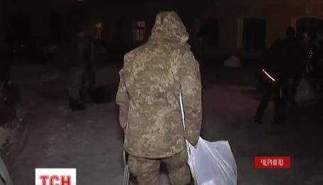 В черниговский госпиталь привезли 43 раненых бойцов