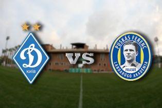 Динамо Київ - Академія Пушкаша - 2:0. Відео матчу