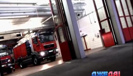 Китайские пожарные получили служебную машину с двумя кабинами