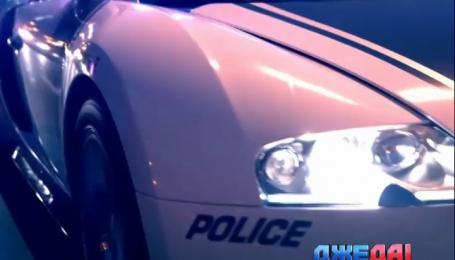Полицейские Дубаи похвастались своим автопарком суперкаров с мигалками
