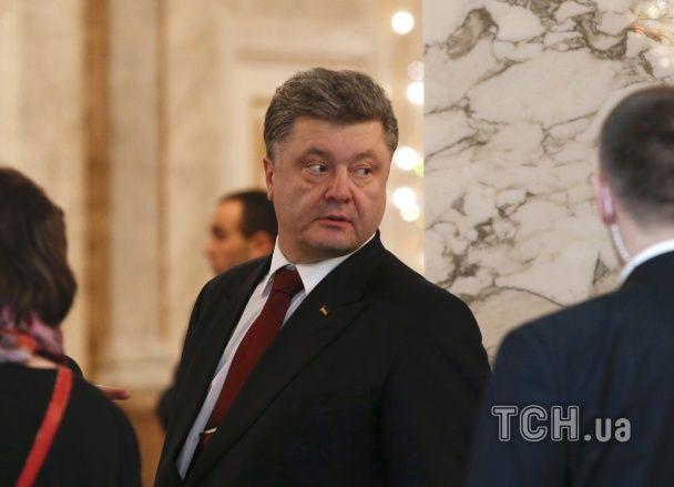 Переговоры в Минске: уставший Путин и Порошенко с телефоном