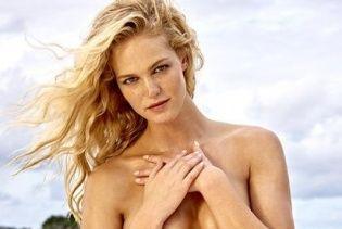 """Бывший """"ангел"""" Эрин Хизертон снялась в пикантном фотосете для Sports Illustrated"""