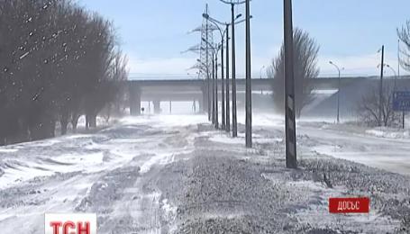В Украину идет резкое похолодание